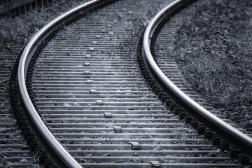 vías del tren son de acero